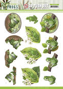 Tree Frogs Punchout Sheet - Friendly Frogs - Find It Trading - PRE ORDER