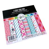 I Love You Soy Patterned Paper - Catherine Pooler