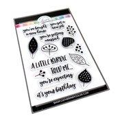 Little Leaves Sentiments Stamp Set - Catherine Pooler