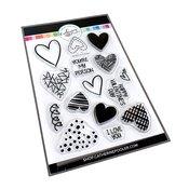 Hip Hearts Stamp Set - Catherine Pooler