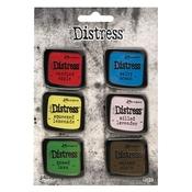 Set 5 - Tim Holtz Distress Enamel Collector Pins - PRE ORDER