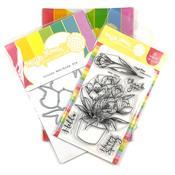 Crocus Stamp & Die Set - Waffle Flower