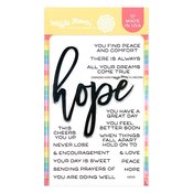 Oversized Hope Clear Stamp - Waffle Flower