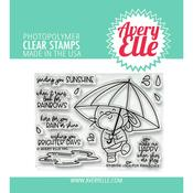 Look For Rainbows Clear Stamps - Avery Elle - PRE ORDER
