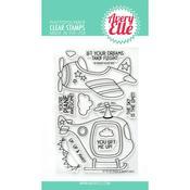 Peek-A-Boo Flight Clear Stamps - Avery Elle - PRE ORDER