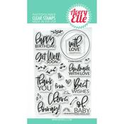 Everyday Circle Tags Clear Stamps - Avery Elle - PRE ORDER