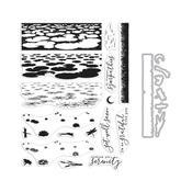 Lily Pond Clear Stamp & Die Combo - Hero Arts - PRE ORDER