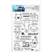 Cool Cats Stamp Set - Simon Hurley