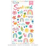 Sunkissed Puffy Stickers - Cocoa Vanilla Studio