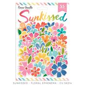 Sunkissed Floral Ephemera - Cocoa Vanilla Studio
