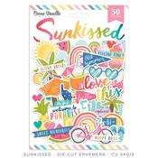 Sunkissed Die Cut Ephemera - Cocoa Vanilla Studio