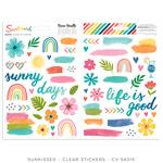 Sunkissed Clear Stickers - Cocoa Vanilla Studio
