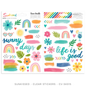 Sunkissed Clear Stickers - Cocoa Vanilla Studio - PRE ORDER