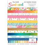 Sunkissed A5 Paper Stack - Cocoa Vanilla Studio