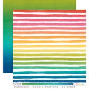 Good Vibrations Paper - Sunkissed - Cocoa Vanilla Studio - PRE ORDER