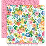 Growing Wild Paper - Sunkissed - Cocoa Vanilla Studio