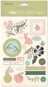 Wild Asparagus 6x9 Sticker Sheets - My Minds Eye