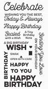 Big Birthday Wishes Clear Stamp - My Favorite Things