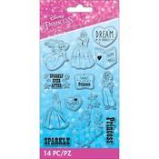 Disney Princess Clear Stamps - EK Success - PRE ORDER