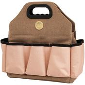 Taupe and Pink Crafters Tote Bag - We R Memory Keepers
