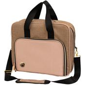 Taupe and Pink Shoulder Bag - We R Memory Keepers