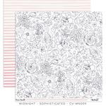Sophisticated Paper - Midnight - Cocoa Vanilla Studio