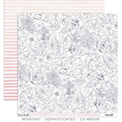 Sophisticated Paper - Midnight - Cocoa Vanilla Studio