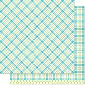 Ivy Remix Paper - Perfectly Plaid Remix - Lawn Fawn