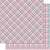 Lynette Remix Paper - Perfectly Plaid Remix - Lawn Fawn