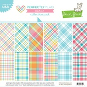 Perfectly Plaid Remix 12x12 Collection Pack - Lawn Fawn