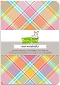 Perfectly Plaid Remix Mini Notebooks - Lawn Fawn