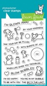 Bubbles Of Joy Stamps - Lawn Fawn