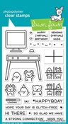 Virtual Friends Stamps - Lawn Fawn