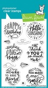 Magic Messages Stamps - Lawn Fawn