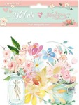 Circle Of Love Floral Die Cuts - Stamperia