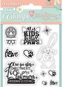 Rabbit Stamps - Circle Of Love - Stamperia