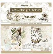 Romantic Journal 8x8 Paper Pad - Stamperia