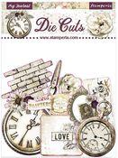 Romantic Journal Assorted Die Cuts - Stamperia