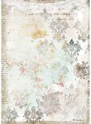 Texture With Lace Rice Paper - Romantic Journal - Stamperia