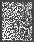 Animalier With Tribals Stencil - Amazonia - Stamperia
