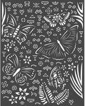 Butterflies Stencil - Amazonia - Stamperia