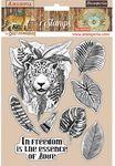 Jaguar Rubber Stamps - Amazonia - Stamperia