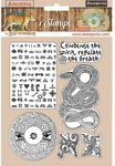 Snake Rubber Stamps - Amazonia - Stamperia