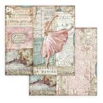 Dancer Paper - Passion - Stamperia