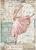 Dancer Rice Paper - Passion - Stamperia