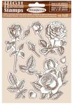 Rose Rubber Stamps - Passion - Stamperia