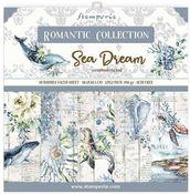 Romantic Sea Dream 12x12 Paper Pad - Stamperia