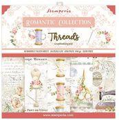 Romantic Threads 8x8 Paper Pad - Stamperia