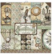 Voyages Fantastiques 8x8 Paper Pad - Stamperia