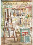 Easel Rice Paper - Ateleir Des Arts - Stamperia